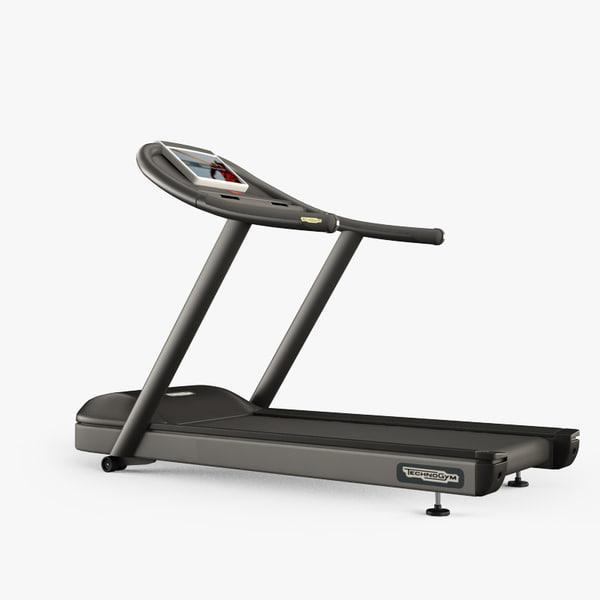 3d techno treadmill