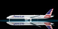 3d model american airlines 787-9 dreamliner