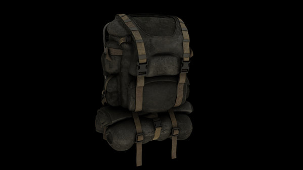 3ds max travel backpack