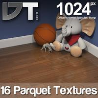 16 Parquet Wood Floor Textures