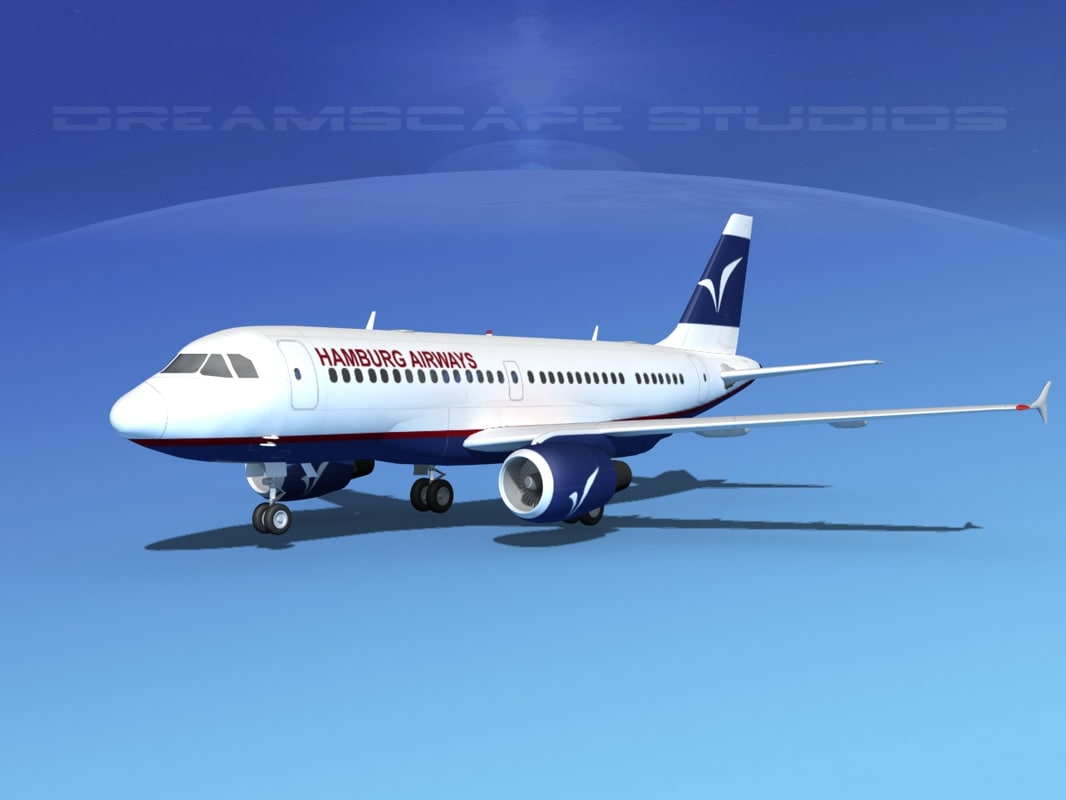 3d scale airbus a319