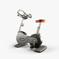 technogym bike 3d model