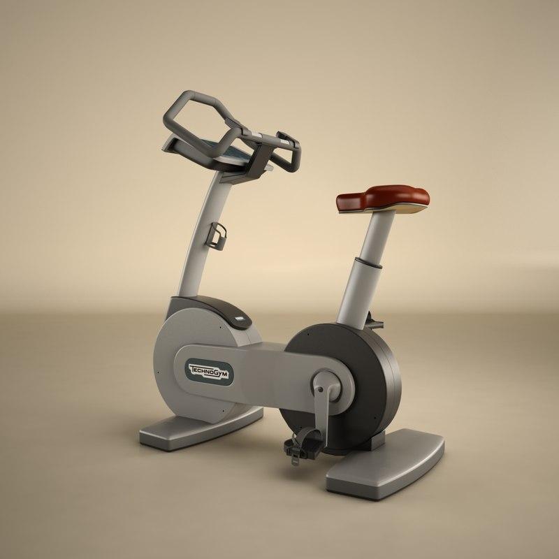 technogym bike 3d model
