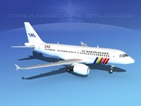 scale airbus a319 lwo