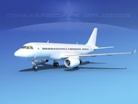 3d model scale airbus a319