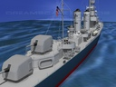 gleaves class destroyer 3D models