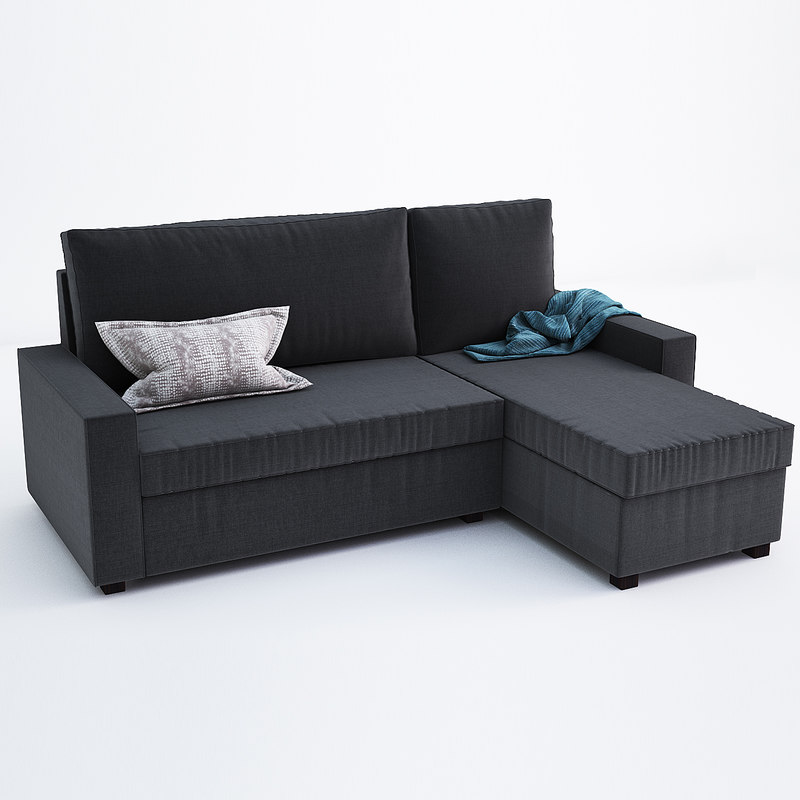 3d vilasund mattarp ikea sofa model