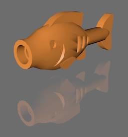 3d 3ds lego fish