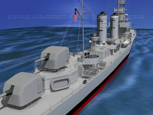 anti-aircraft destroyers class gleaves lwo