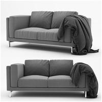 3d nockeby ikea sofa