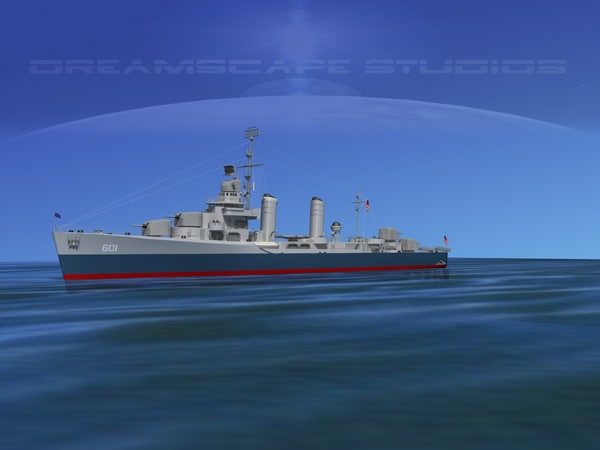 anti-aircraft class destroyers obj