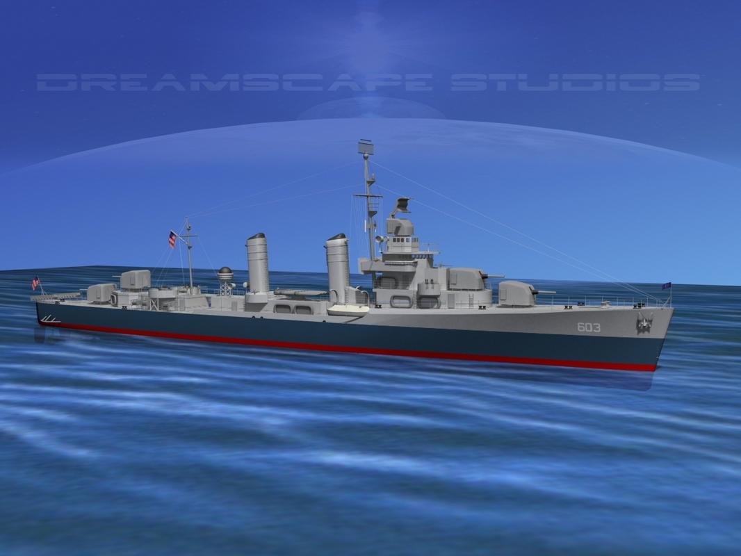 3d anti-aircraft class destroyers