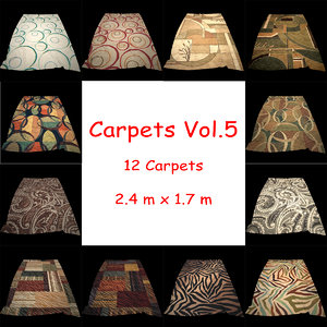 carpets vol 5 3d max