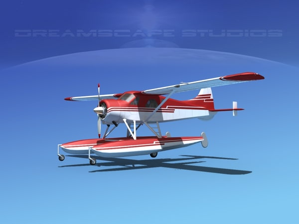 3d dehavilland beaver model