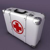 aid suitcase 3d model