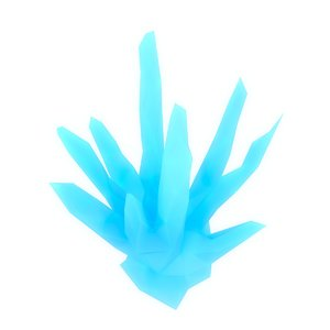 crystal shard 3d 3ds