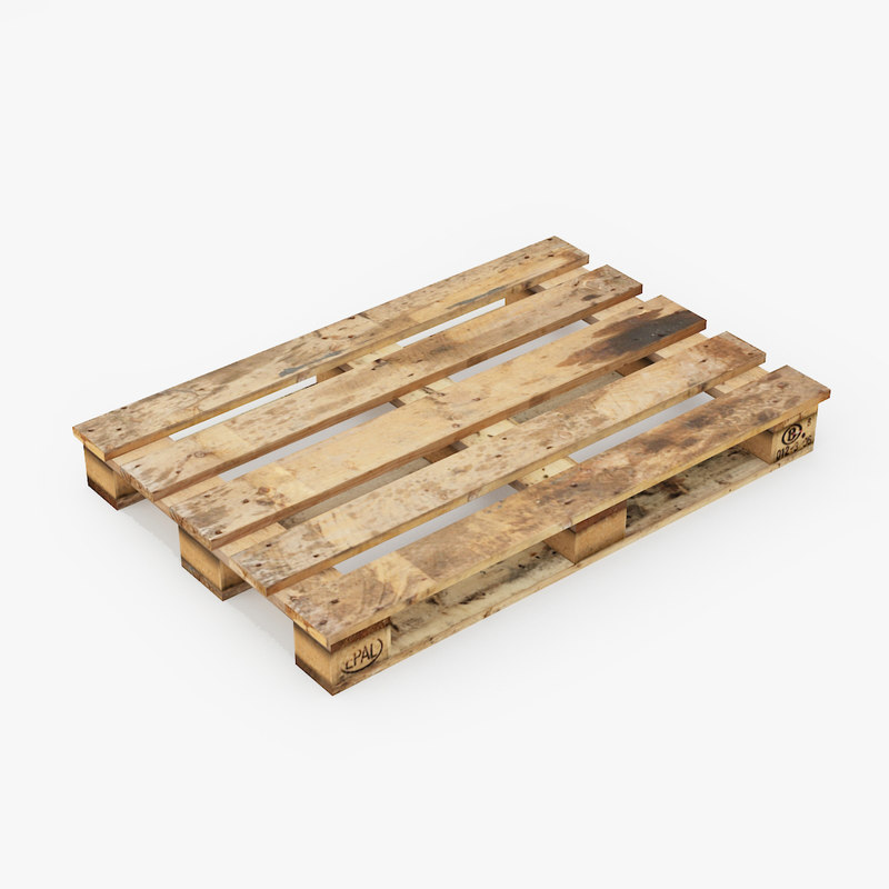 3dsmax wooden pallet