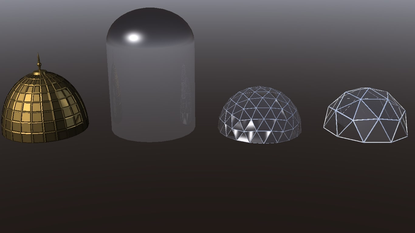 3d dome lightwave