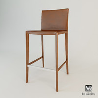 3ds max bar chair zanotta leo