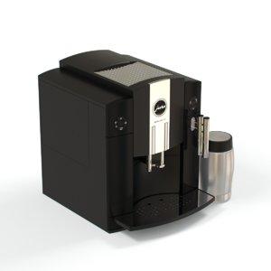 3d coffemachine jura impressa c9 model