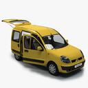 Renault Kangoo 3D models