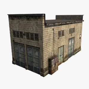old soviet building 3d max