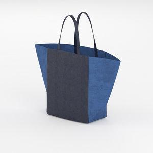 3d model celine luggage phantom bag