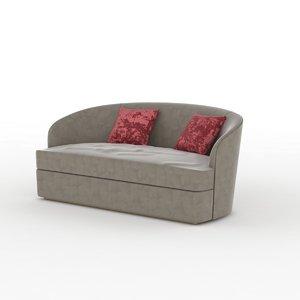 velvet couch atelier jouffré 3d max