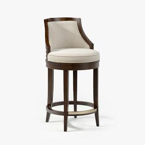 3d lexington cabana swivel bar stool