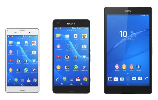 3d 3ds sony xperia z3 collections