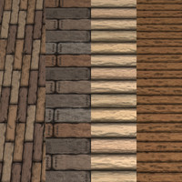 Wood Logs Pack Textures Tile