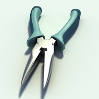 needle nosed pliers 3ds