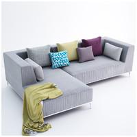 velvet sofa max