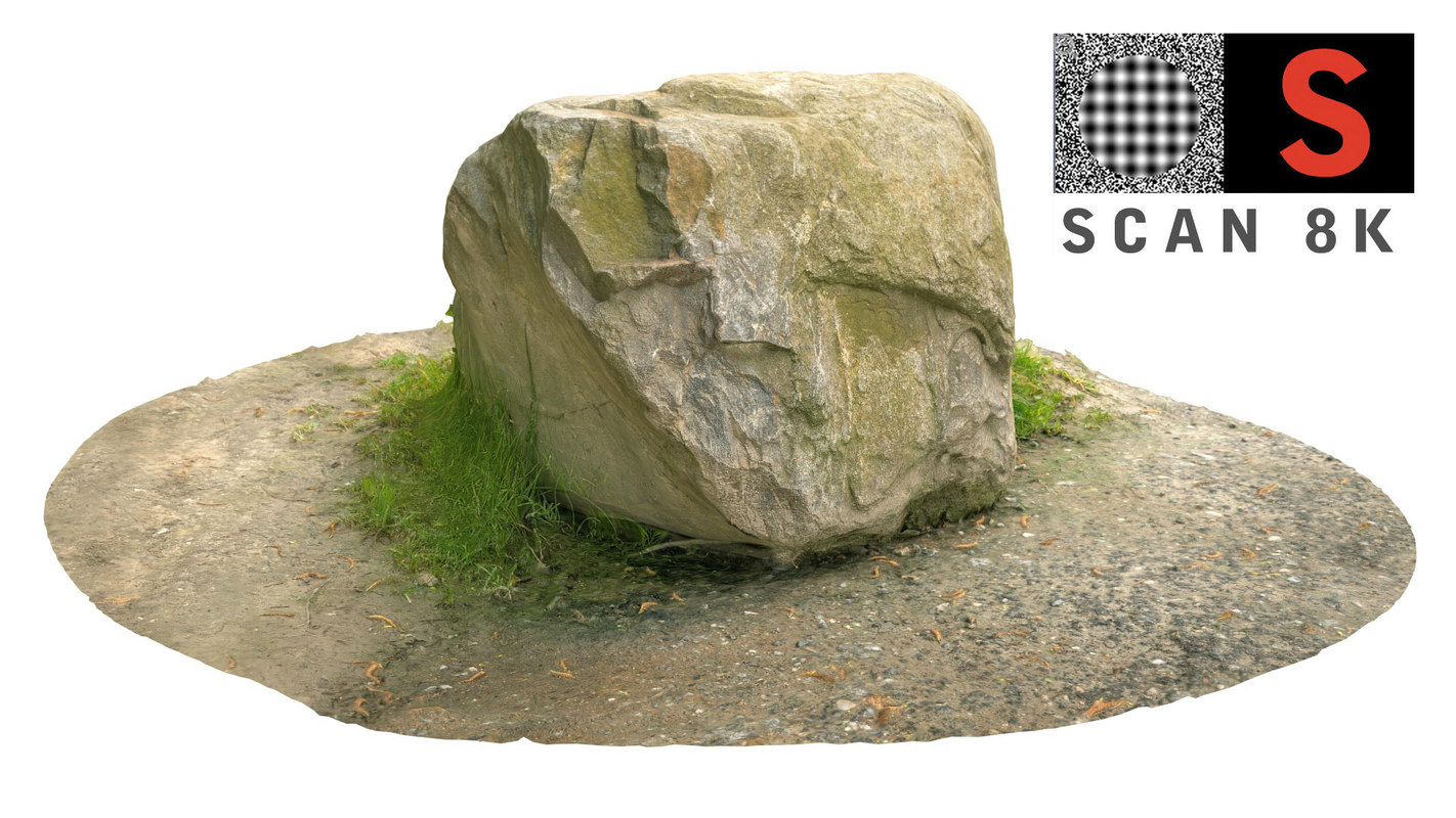 3d model scanned nature