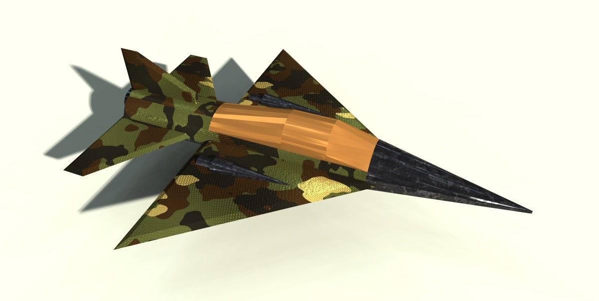 free 3ds mode fighter jet