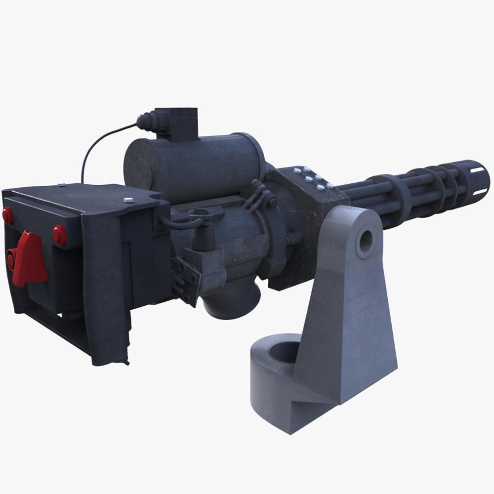 mini gun 3d ma