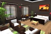 room rattan 3ds