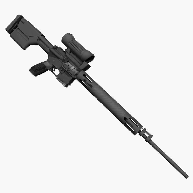 3d xm15 rifle