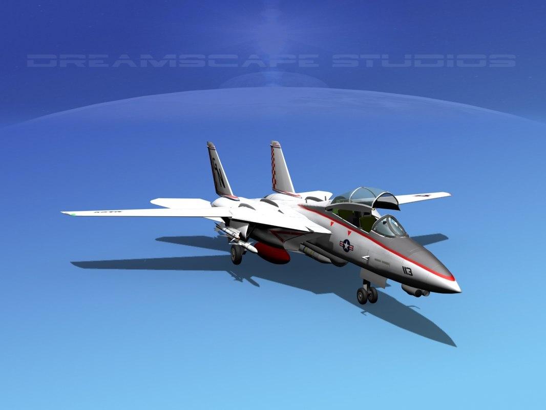 grumman tomcat f-14d fighter aircraft max