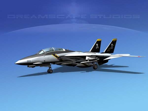 grumman tomcat f-14d fighter aircraft max