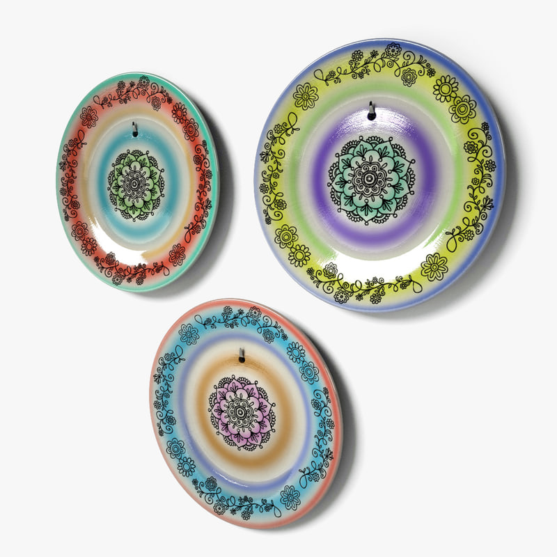 wall dishes decor 1 3d 3ds