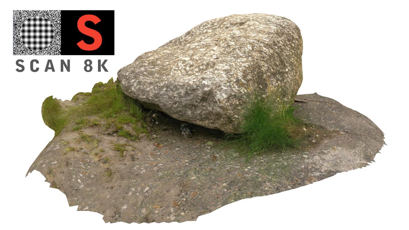 3d scanned nature model