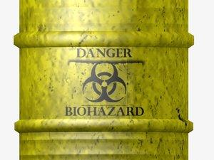 metal toxic waste 3d model