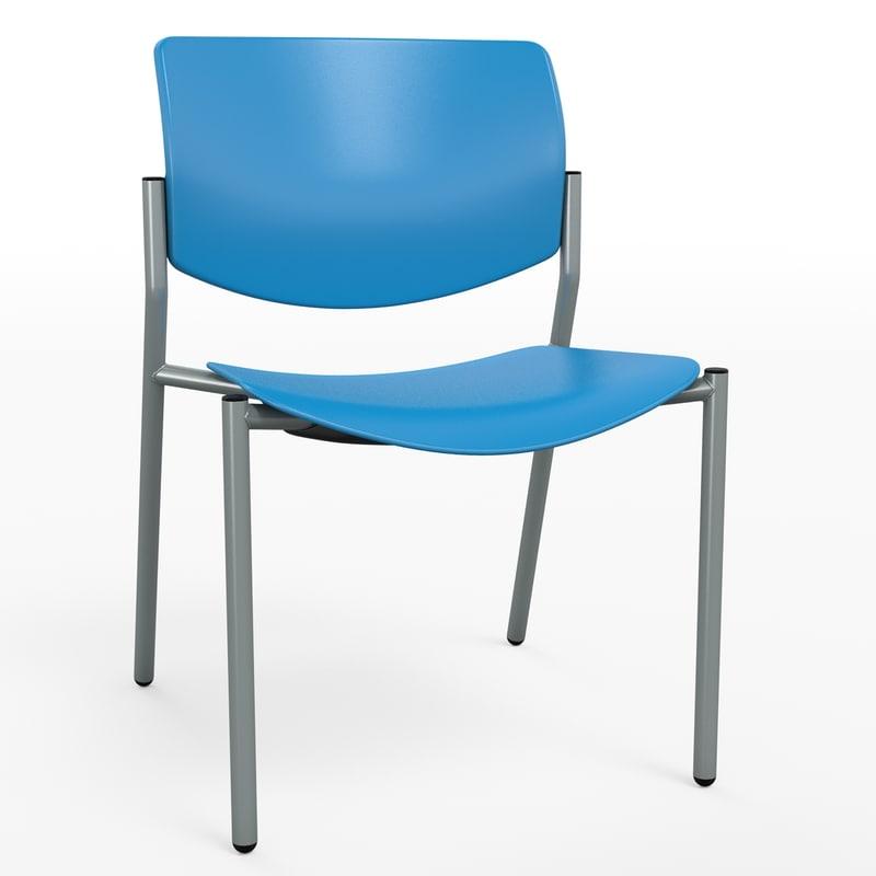 modern office chair 3d max