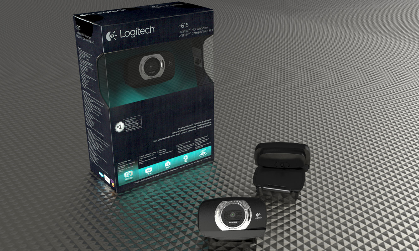 3ds max logitech c615 web camera