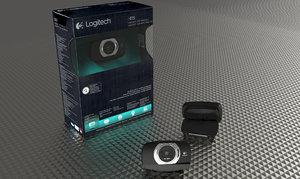 3ds max logitech c615 web camera