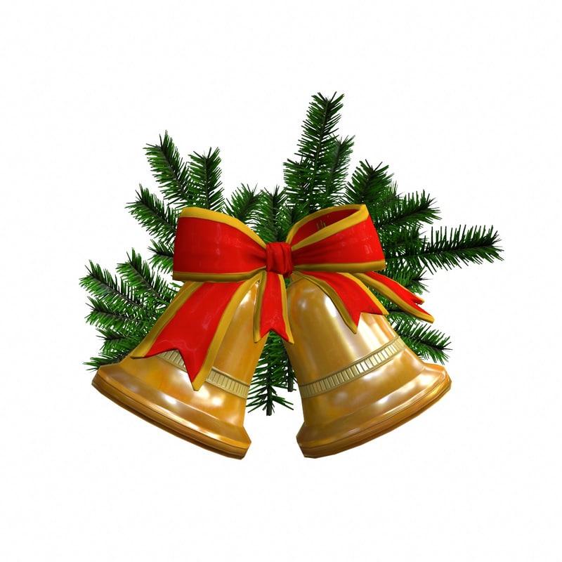 christmas bell 3d model - Christmas Bell