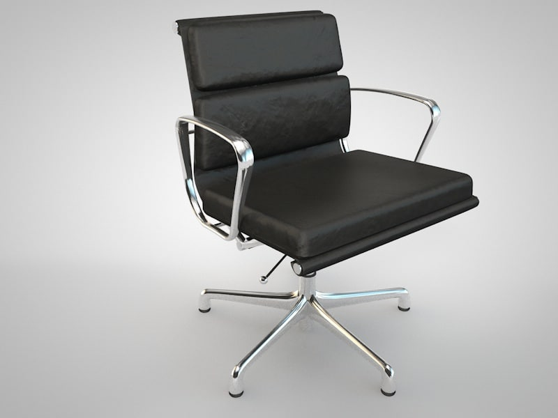 3d meeting chair style charles eames model