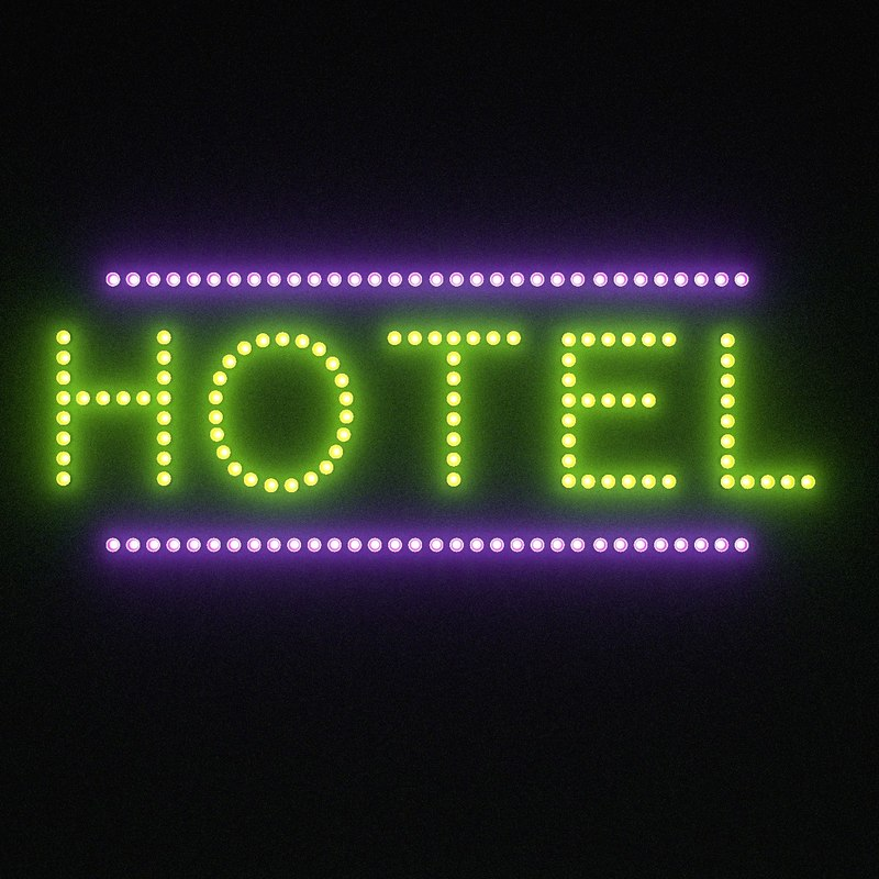 hotel sign 3ds