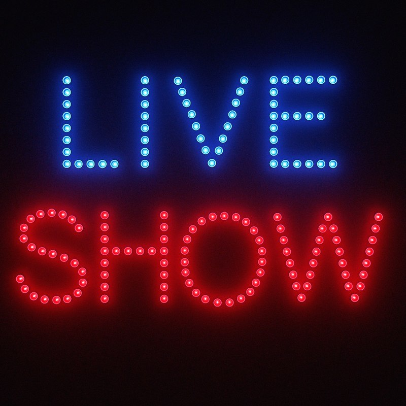 3d model live sign